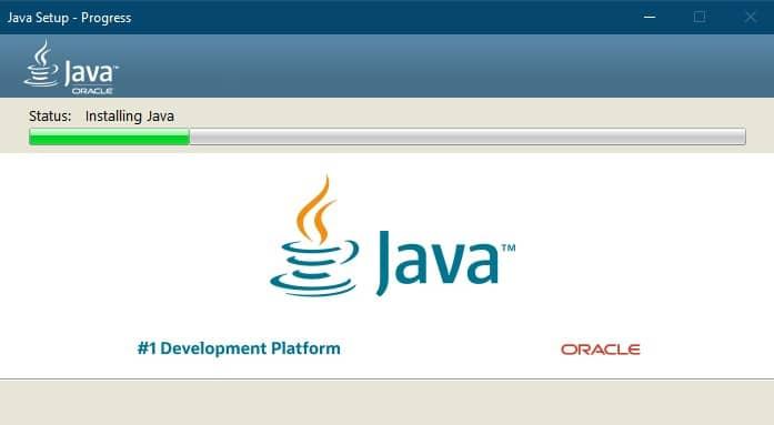 Java Runtime Environment установка на windows 32 64