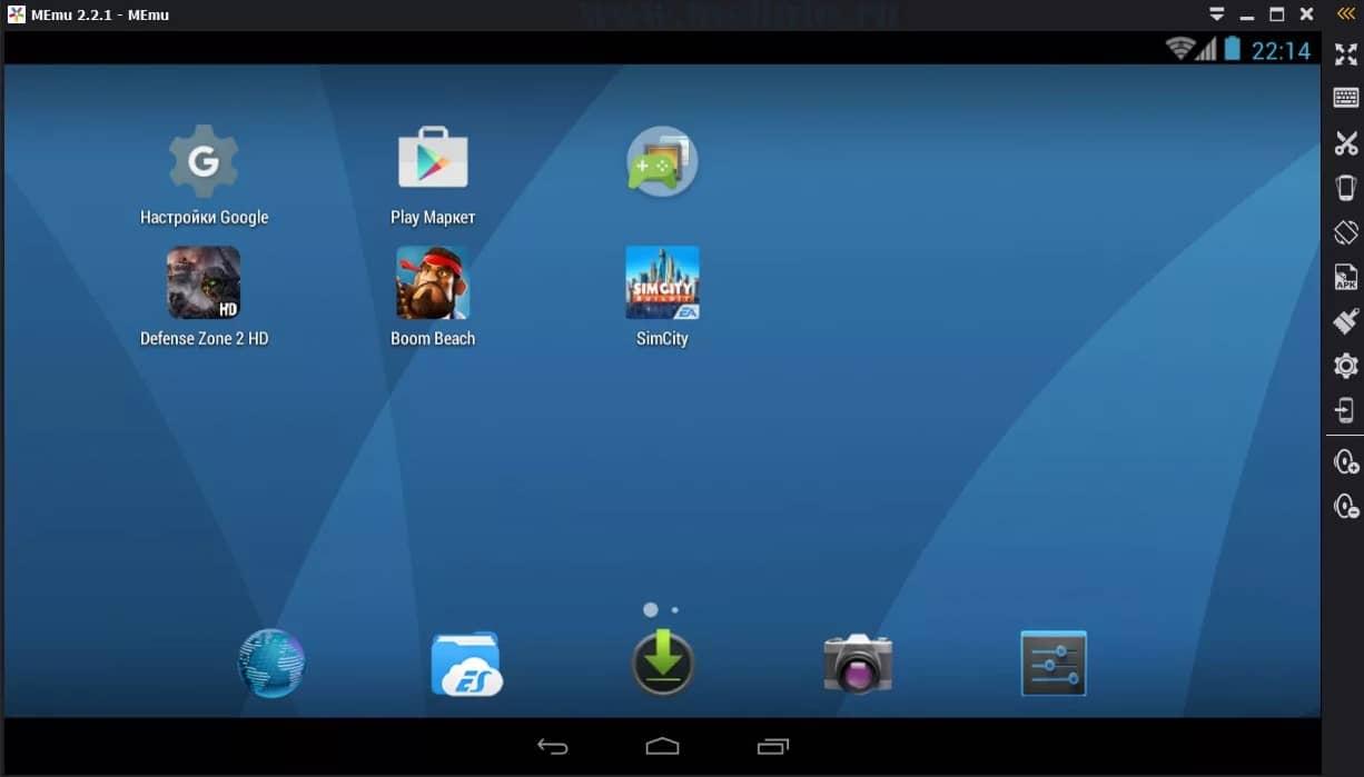 Memu интерфейс и лого некоторых игр андроид